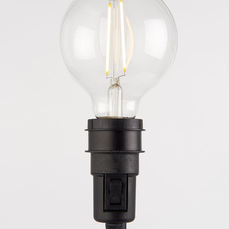Endon-79383 - Studio - Matt Black Table Lamp