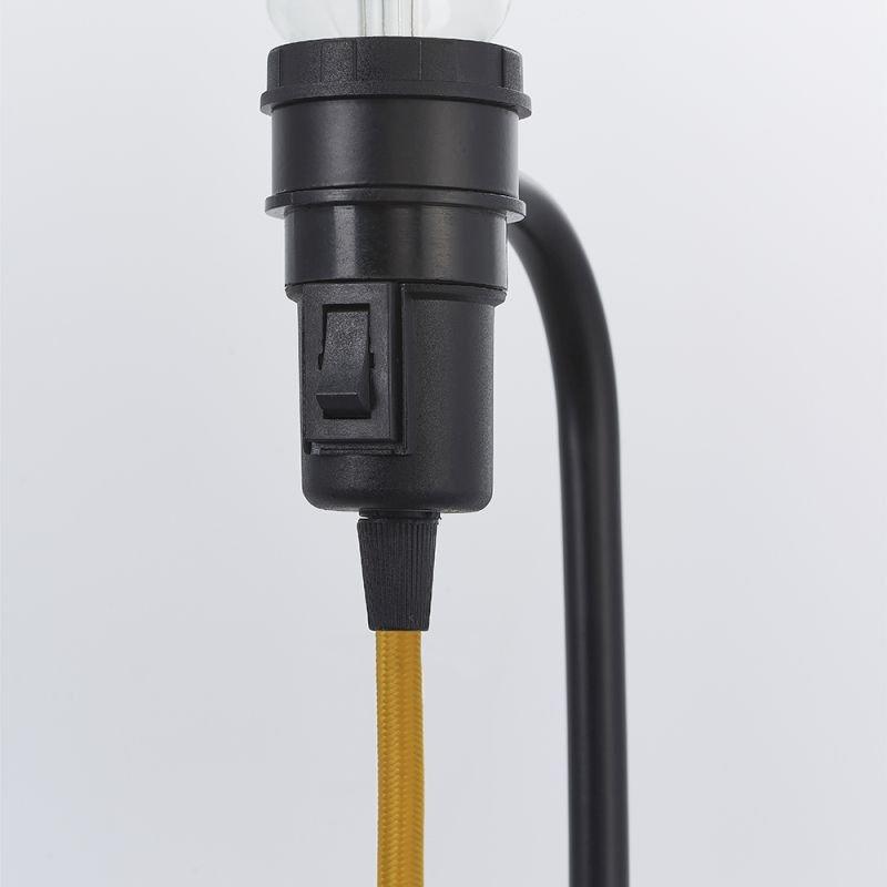 Endon-79384 - Studio - Matt Black Floor Lamp