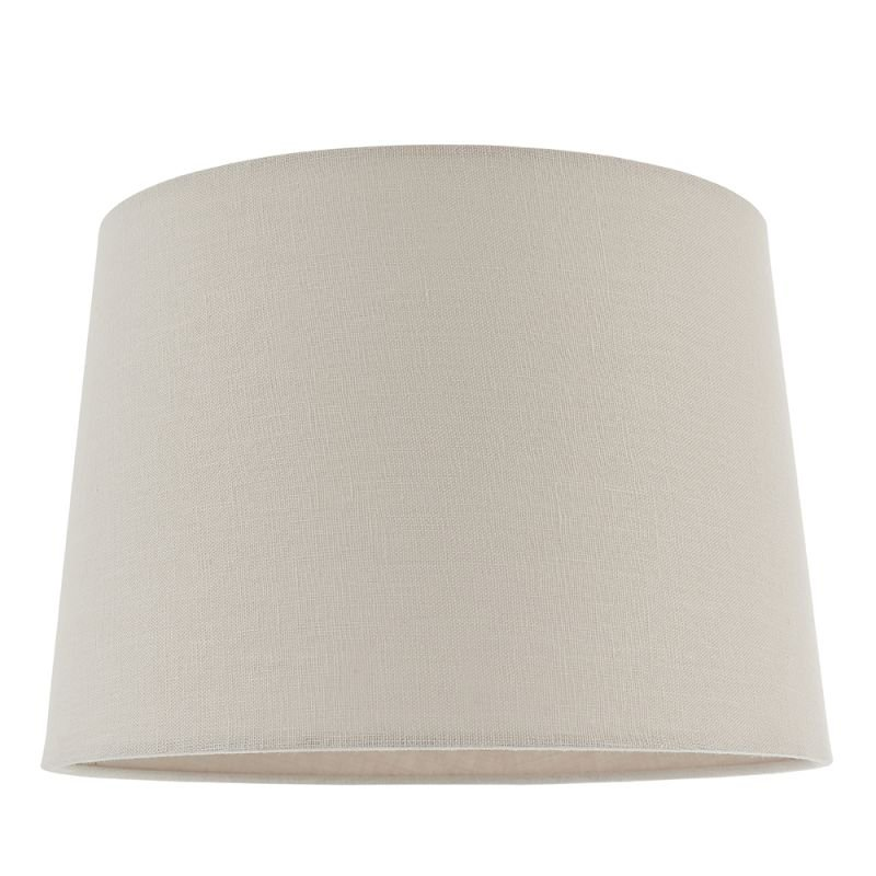 Endon-79641 - Mia - Shade Only - 12 inch Natural Linen Shade