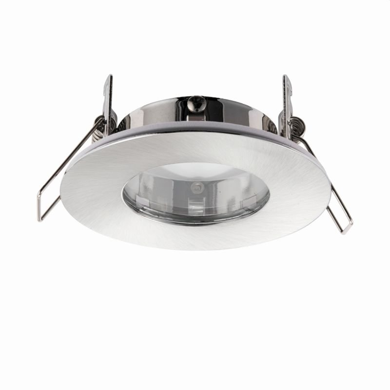 Saxby-79979 - Speculo - Round Brushed Chrome Recessed Downlight