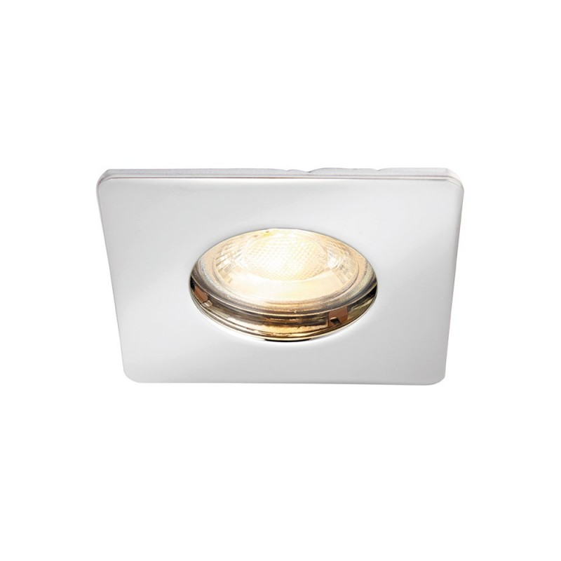 Saxby-80246 - Speculo - Square Chrome Recessed Downlight
