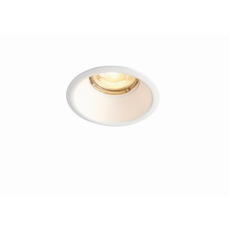 Saxby-80247 - Speculo Anti-glare - Matt White Recessed Downlight