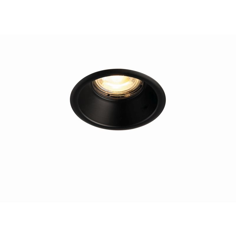 Saxby-80248 - Speculo Anti-glare - Matt Black Recessed Downlight