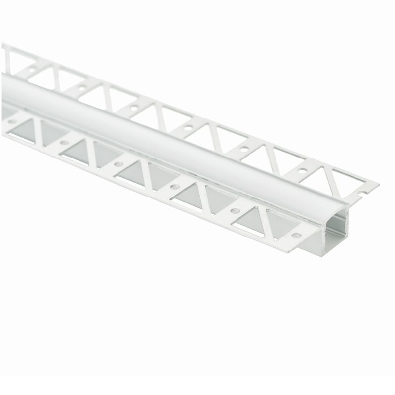 Saxby-80500 - Profile - 2m Extrusion Plaster-in Profile for LED Strip Light