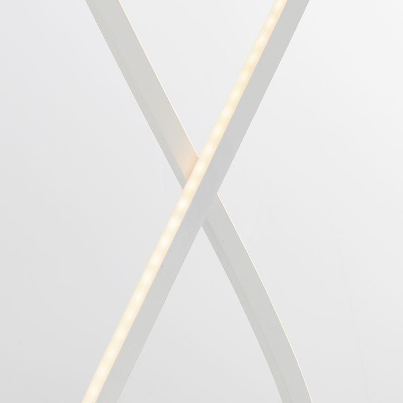 Endon-80677 - Paradox - LED Matt White Table Lamp