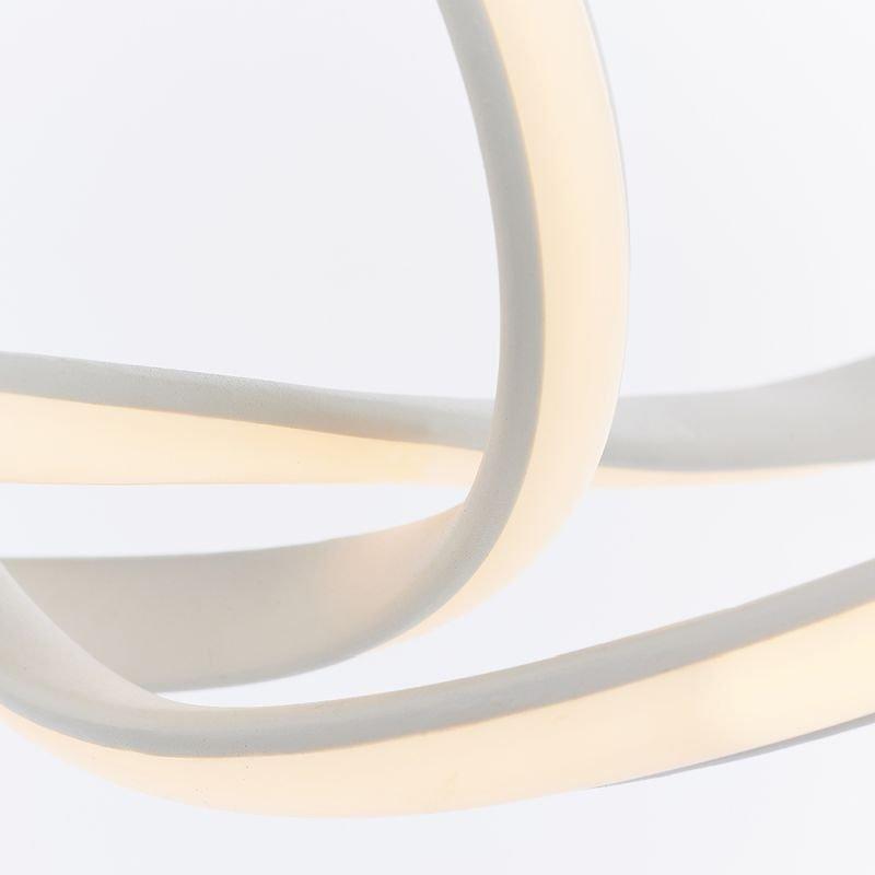 Endon-80683 - Paradox - LED Matt White Pendant