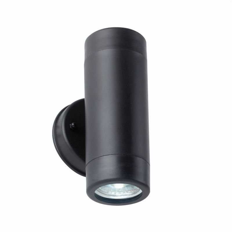 Saxby-81009 - Icarus - Outdoor Black Up&Down Wall Lamp