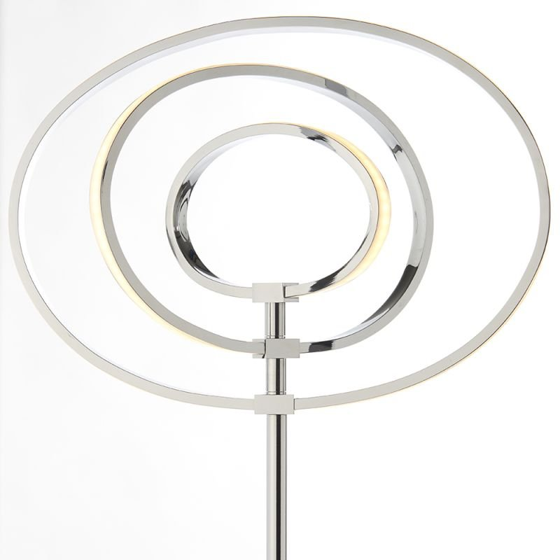 Endon-81035 - Avali - LED Chrome Rings 3 Light Floor Lamp