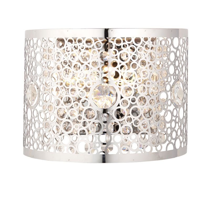 Endon-81976 - Fayola - Crystal & Decorative Chrome Wall Lamp