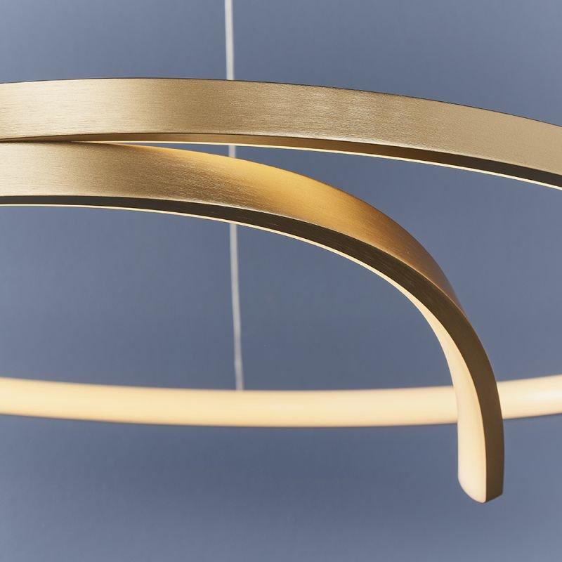 Endon-90323 - Rafe - LED Brushed Gold Pendant