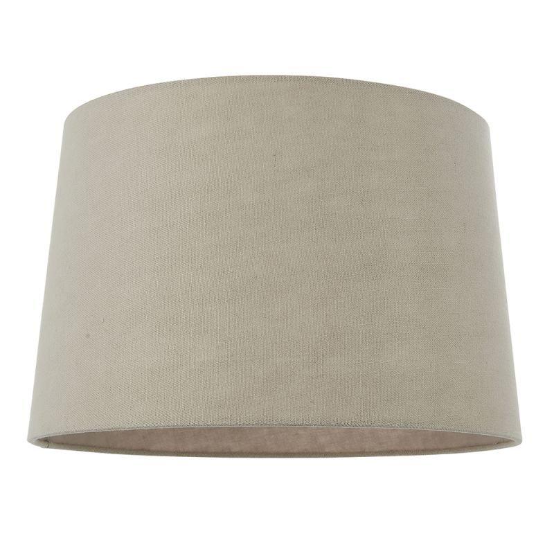 Endon-90547 - Mae - Shade Only - 16 inch Natural Linen Shade