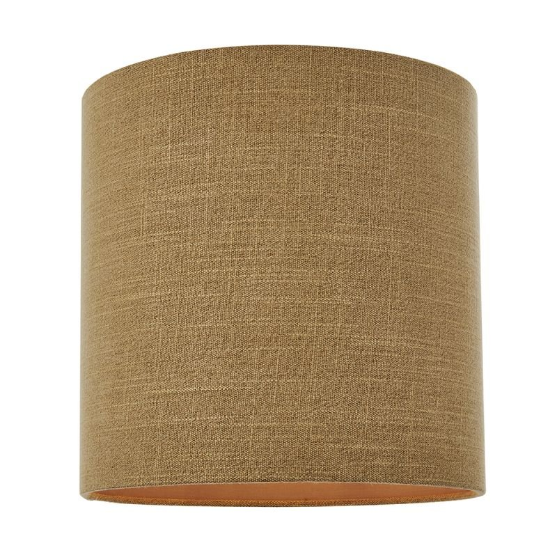 Endon-90549 - Emma - Shade Only - 12 inch Putty Linen Shade