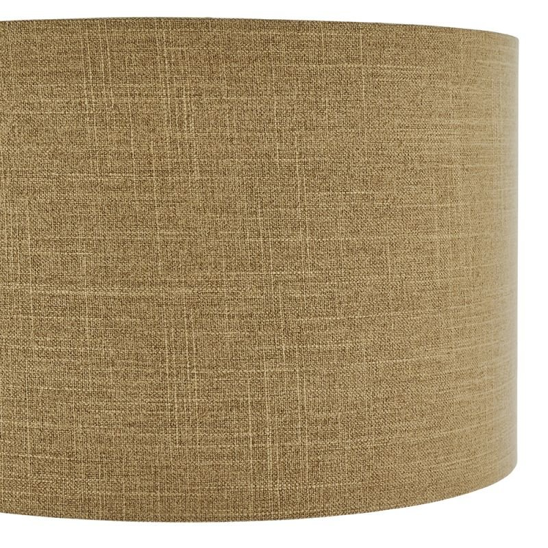 Endon-90554 - Emma - Shade Only - 18 inch Putty Linen Shade