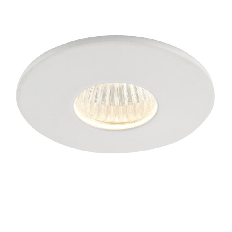 Saxby-91513 - Lalo - LED 3000K Micro White Recessed Downlight