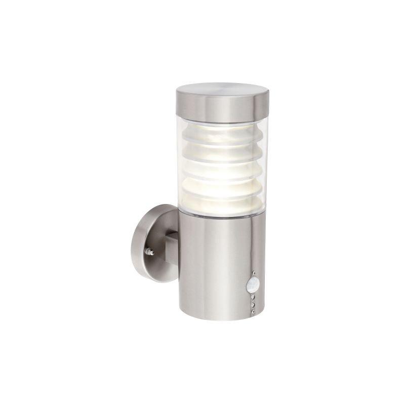 Saxby-91785 - Equinox LED - Marine Grade Stainless Steel PIR Wall Lamp