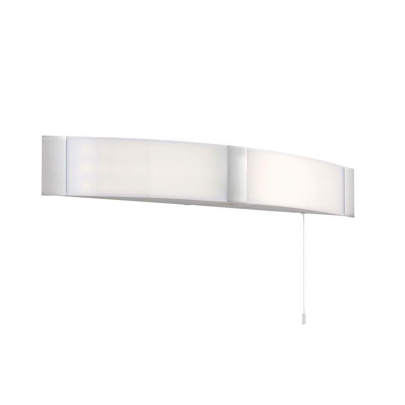 Saxby-91797 - Onan - LED Bathroom White and Chrome Shaver Light