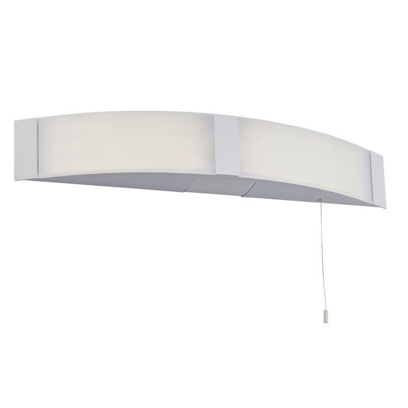 Saxby-91798 - Onan - LED Bathroom White Shaver Light
