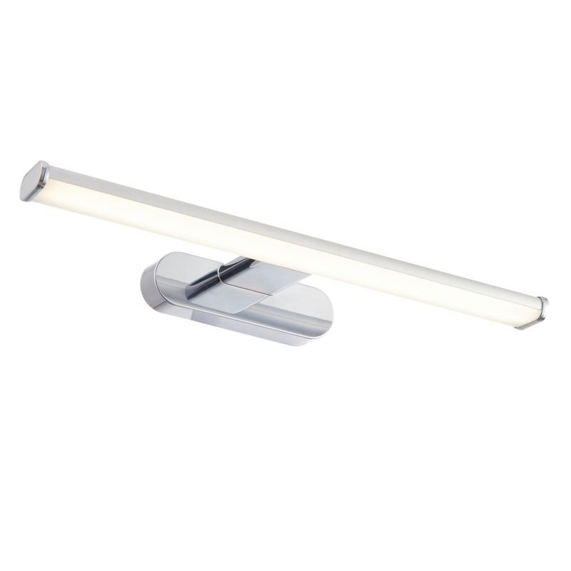 Saxby-91802 - Moda - LED Bathroom Chrome and Frosted Picture Lamp