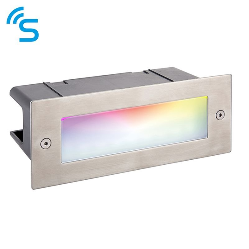 Saxby-91962 - Smart Seina - LED Marine Grade Stainless Steel Smart Brick Light