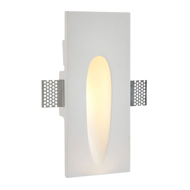 Saxby-92313 - Zeke - LED Plaster-in Recessed Wall Light