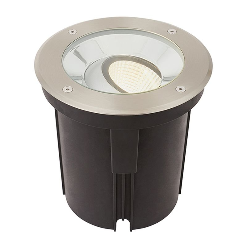 Saxby-94059 - Hoxton - LED Stainless Steel Ground Recessed Light