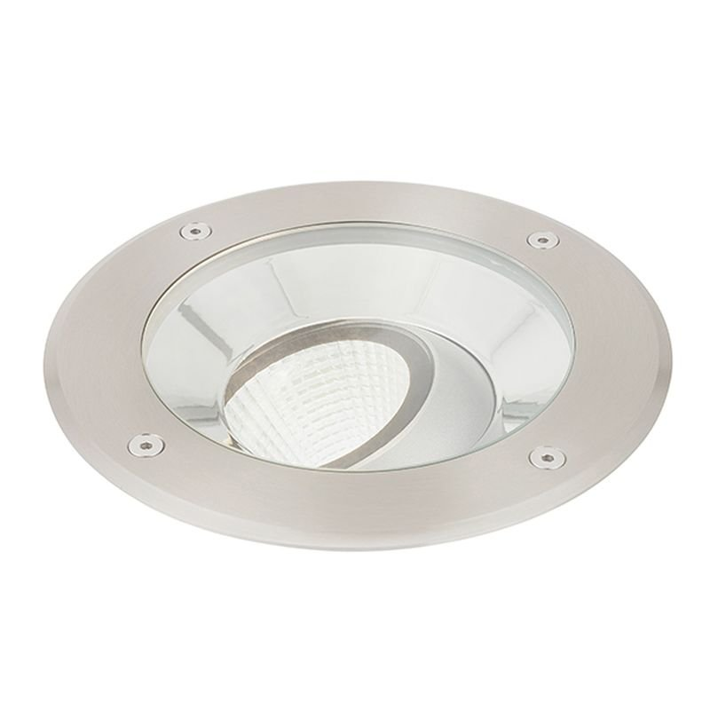 Saxby-94060 - Hoxton - LED Stainless Steel Ground Recessed Light