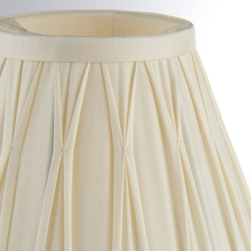 Endon-94351 - Chatsworth - 6.5 inch Ivory Silk Shade