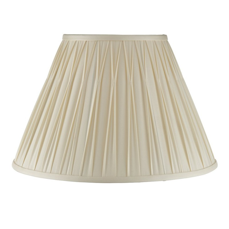 Endon-94354 - Chatsworth - 16 inch Ivory Silk Shade