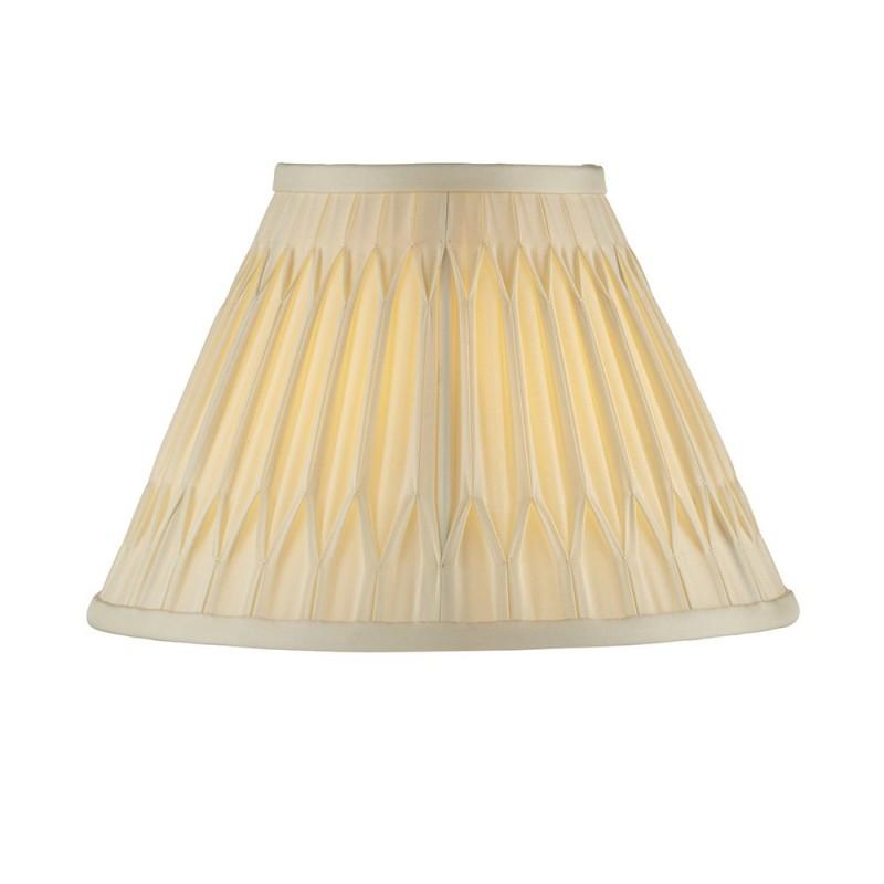 Endon-94355 - Chatsworth - 10 inch Ivory Silk Shade