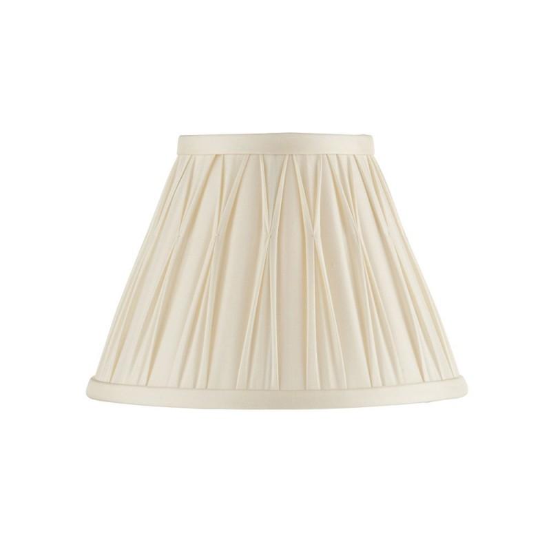Endon-94362 - Chatsworth - 8 inch Ivory Silk Shade