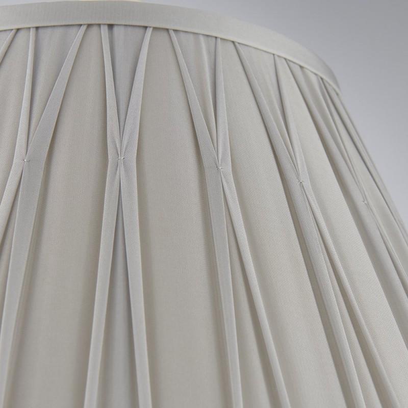 Endon-94365 - Chatsworth - 14 inch Silver Silk Shade