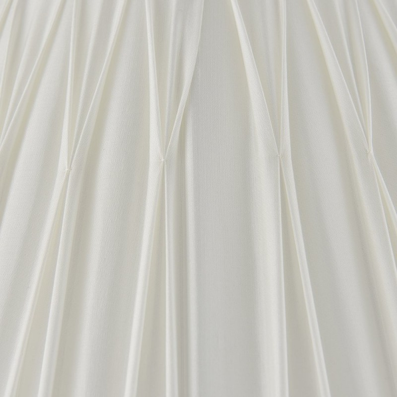 Endon-94375 - Chatsworth - 16 inch Vintage White Silk Shade