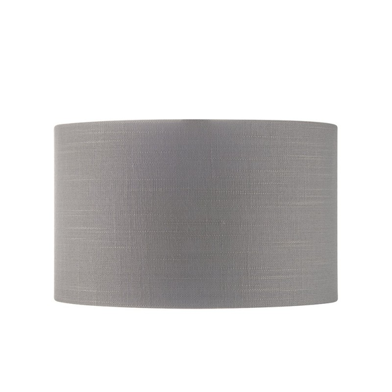 Endon-94380 - Highclere - 10 inch Charcoal Linen & Metallic Shade