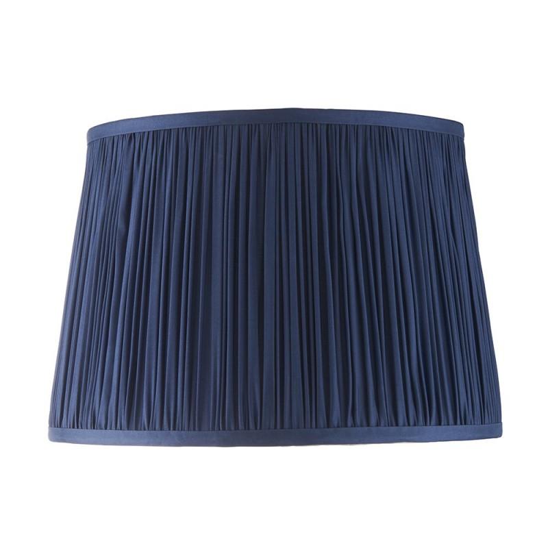 Endon-94384 - Wentworth - 12 inch Blue Silk Shade