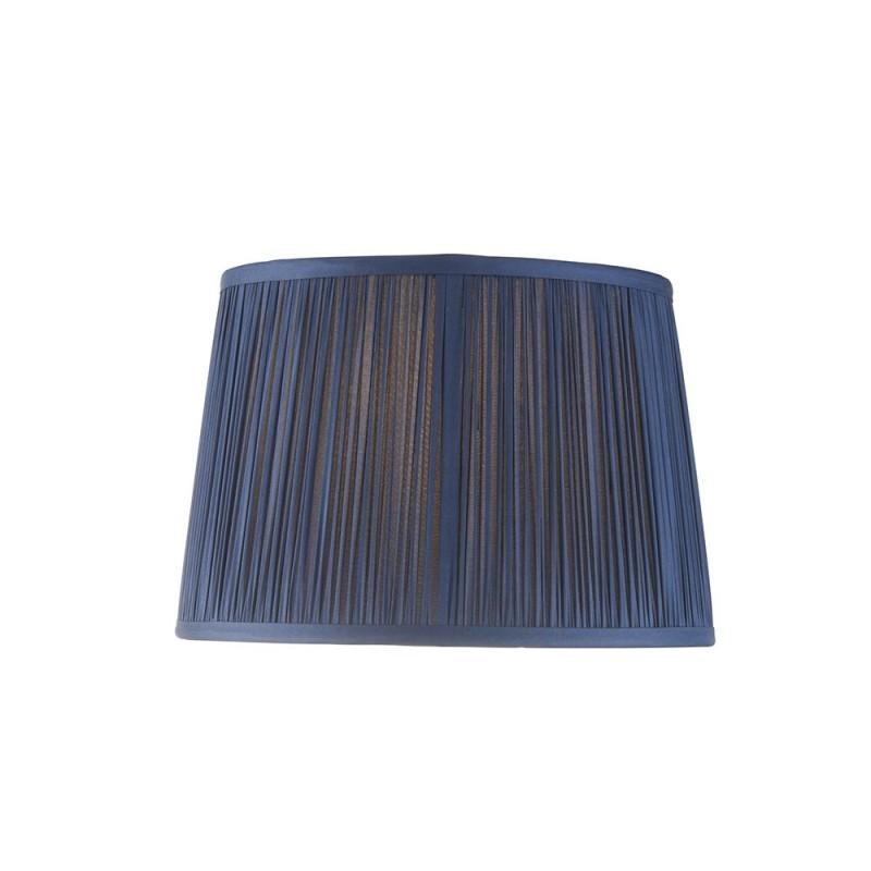 Endon-94386 - Wentworth - 10 inch Blue Silk Shade