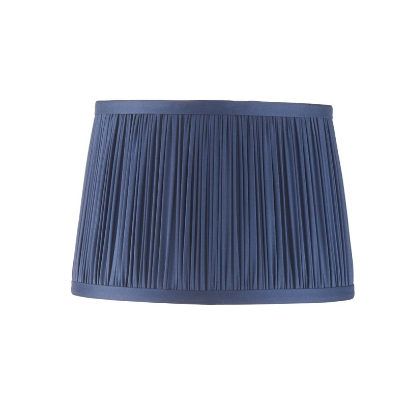 Endon-94387 - Wentworth - 8 inch Blue Silk Shade