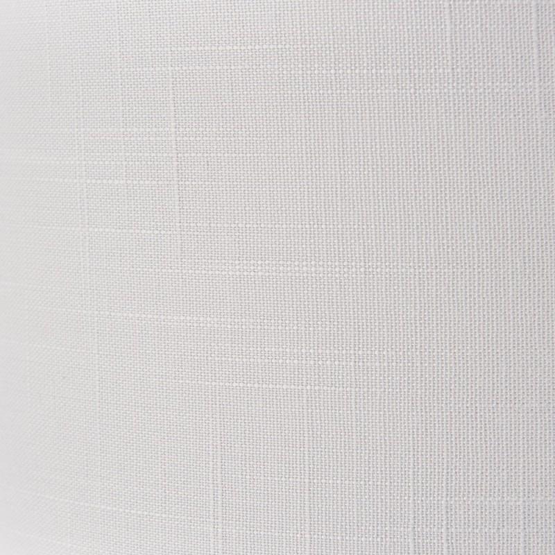 Endon-94391 - Highclere - Silver Linen & Bright Nickel 3 Light Table Lamp