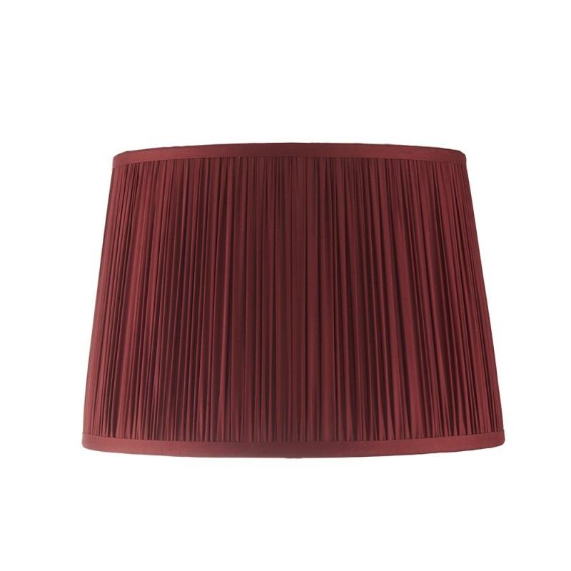 Endon-94411 - Wentworth - 12 inch Red Silk Shade