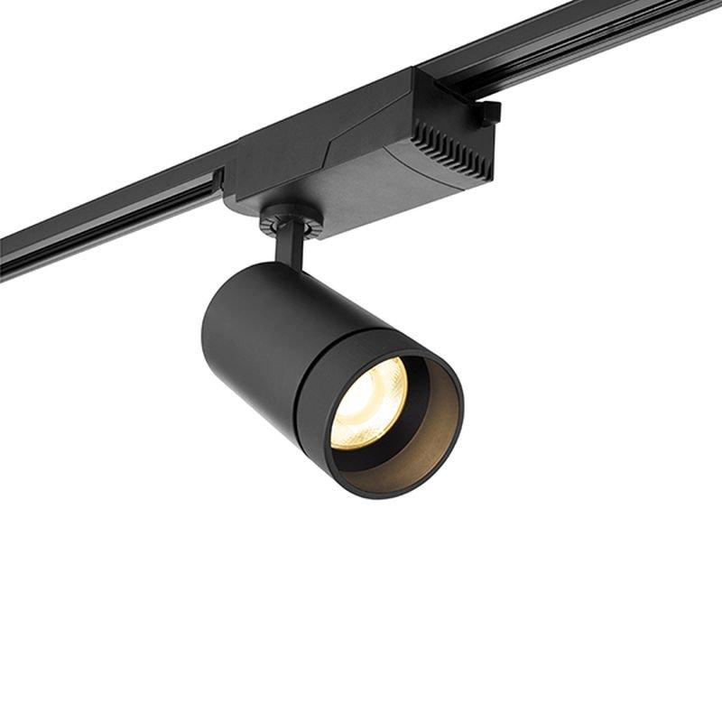 Saxby-94432 - Cody - LED 3000 K Black Track Head Spotlight