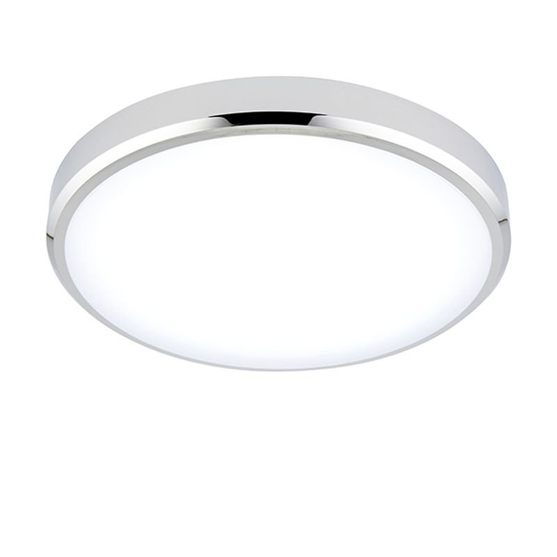 Saxby-94520 - Cobra CCT - White & Chrome Flush with Colour Changing Technology