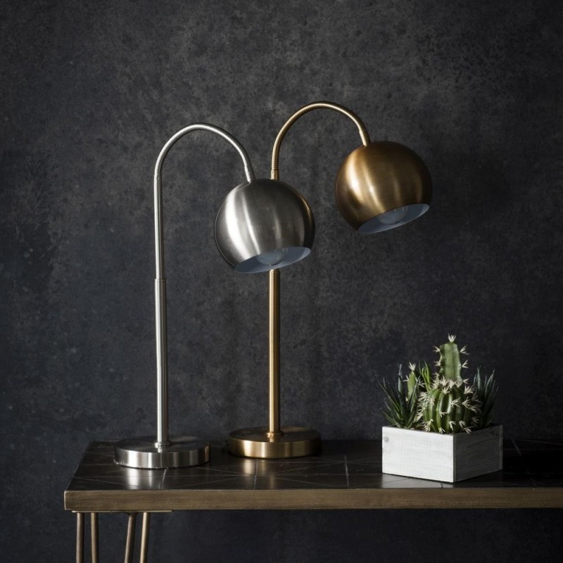 Endon-95458 - Balin - Brushed Bronze Desk Lamp