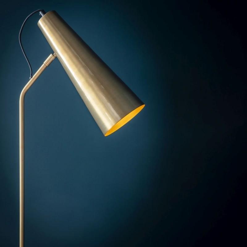 Endon-95476 - Karna - Antique Brass & Gold Floor Lamp