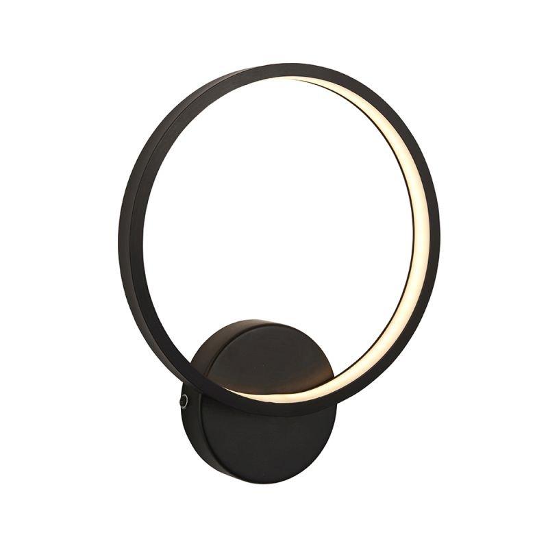 Endon-95523 - Kieron - LED Outdoor Black Wall Lamp