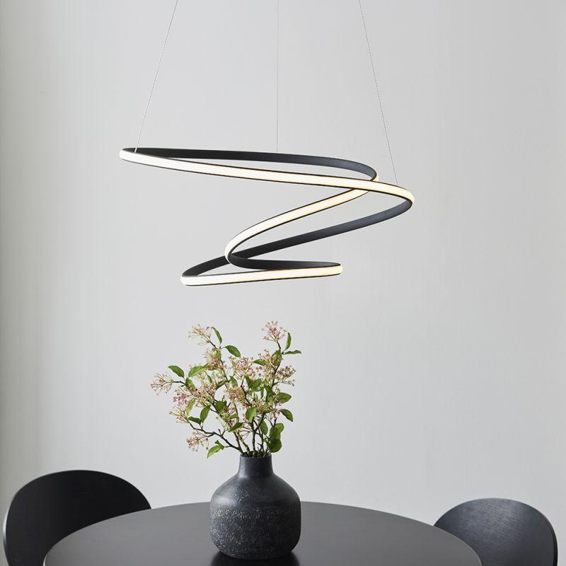 Endon-97632 - Dune - LED Black & White Pendant