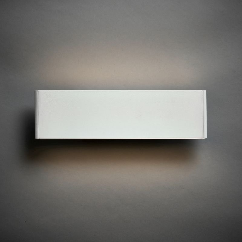 Endon-Collection-70118 - Bodhi 285 - LED Textured Matt White Wall Lamp