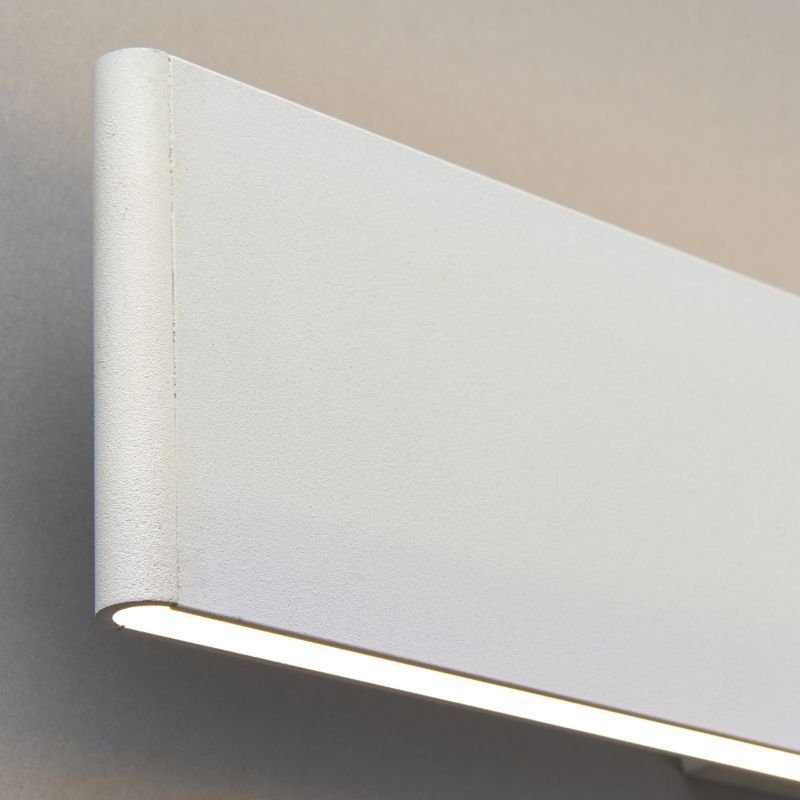 Endon-Collection-70119 - Bodhi 485 - LED Textured Matt White Wall Lamp