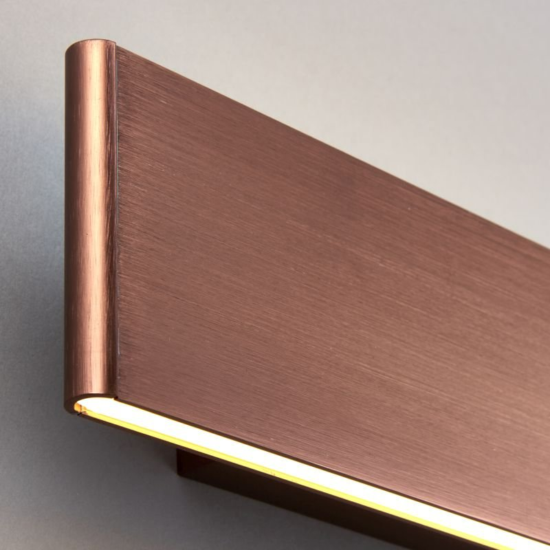 Endon-Collection-70121 - Bodhi 285 - LED Brushed Copper Wall Lamp