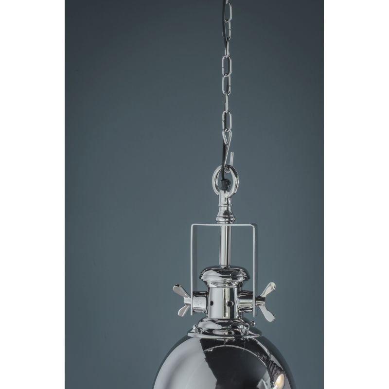 Endon-Collection-73103 - Fenton - Sandblasted Glass & Bright Nickel Pendant