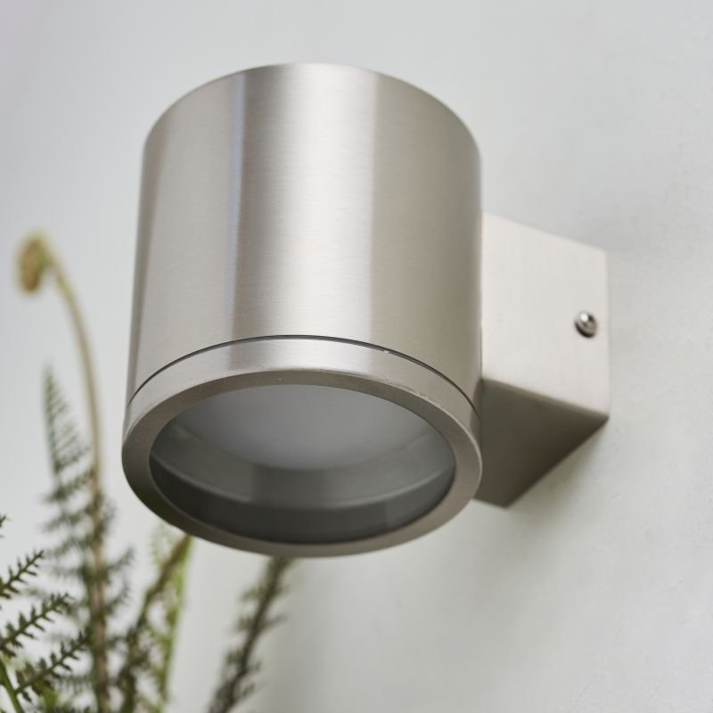 Endon-Collection-73193 - Nio - LED Marine Grade Brushed Stainless Steel Wall Lamp