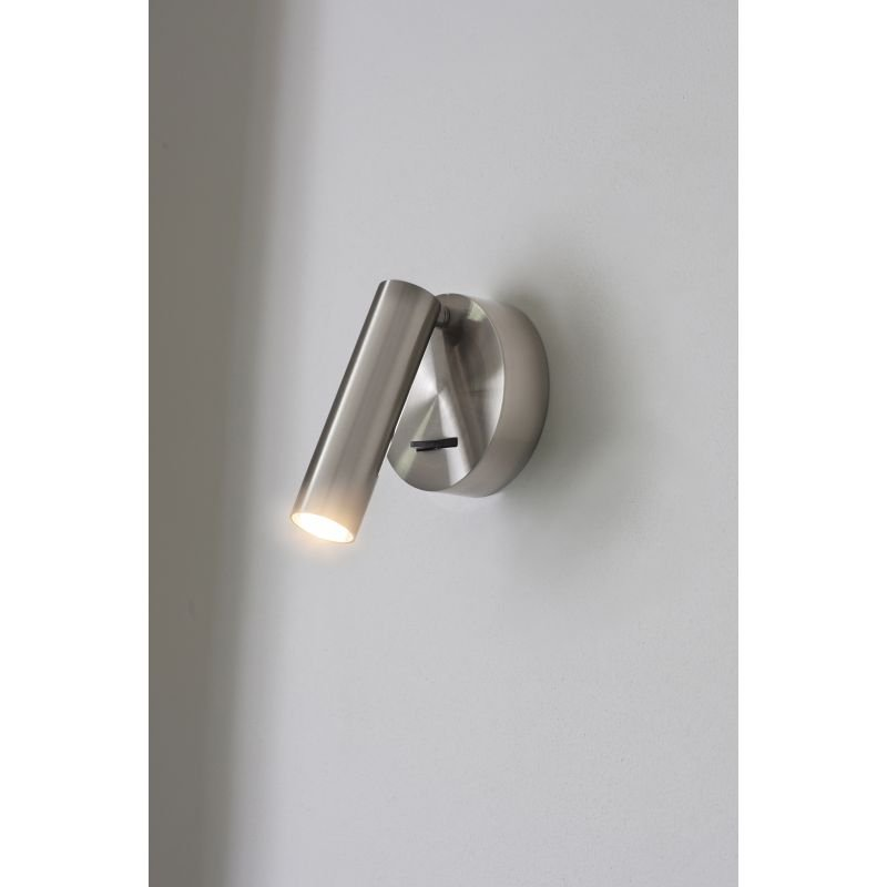 Endon-Collection-76343 - Staten - LED Brushed Aluminium Reading Wall Lamp